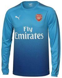 half off 9b211 a175b PUMA - 2017-2018 Arsenal Away Long Sleeve Shirt (ramsey 8) Men s In