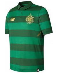 New Balance - 2017-2018 Celtic Away Football Shirt (kids) Men s Polo Shirt 409c90c08