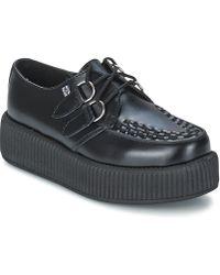 T.U.K. | Mondo Hi Women's Casual Shoes In Black | Lyst