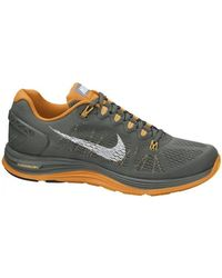 Nike - Lunarglide 5 Men's Running Trainers In Orange - Lyst