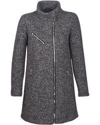 Vero Moda - Vmdarling Women's Coat In Grey - Lyst