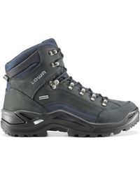 Lowa | Men Renegade Gtx Mid Goretex Men's Shoes (high-top Trainers) In Multicolour | Lyst