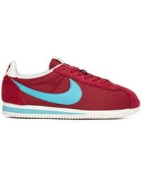 Nike - Classic Cortez Nylon Premium Varsity Red Men s Shoes (trainers) In  Multicolour - 483641631