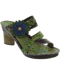 Laura Vita - Deby 04 Women's Sandals In Green - Lyst