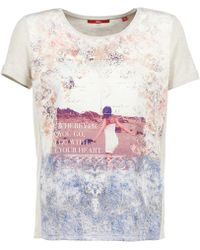 S.oliver - Modume Women's T Shirt In Multicolour - Lyst