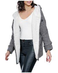 Infinie Passion - Coat 00w061272 Women's Coat In Grey - Lyst