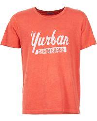 Yurban - Ebatoule Men's T Shirt In Red - Lyst