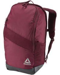 5051e765d7 Reebok - Sac à dos avec espace pour chaussures femmes Sac à dos en rouge -