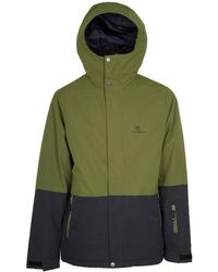 Rip Curl - Veste Enigma Men's Jacket In Green - Lyst