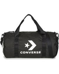Converse Legacy Barrel Duffel Bag Women s Sports Bag In Black in ... 2150469139c9b