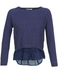Betty London - Dharall Women's Sweater In Blue - Lyst