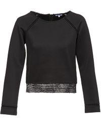 Brigitte Bardot - Amelie Women's Sweatshirt In Black - Lyst