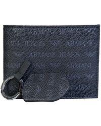 Armani Jeans - Wallet Gift Set 937502 Cc996 Men's Purse Wallet In Black - Lyst