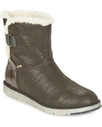S.oliver - Kevuze Women's Mid Boots In Brown - Lyst