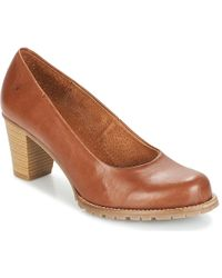 Casual Attitude - Jarche Women's Court Shoes In Brown - Lyst