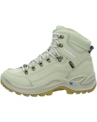 Lowa - Renegade Gtx Mid Men's Shoes (high-top Trainers) In Beige - Lyst