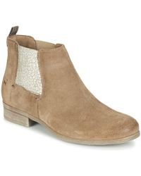 Dream in Green - Ganapa Women's Mid Boots In Brown - Lyst