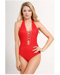 Infinie Passion - Red Body 00w032976 Women's In Red - Lyst