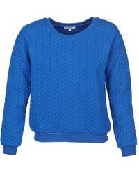 Suncoo - Pam Women's Sweatshirt In Blue - Lyst