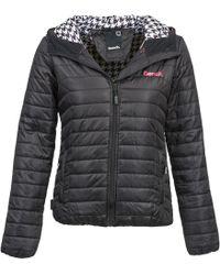 Bench - Off Kilter Women's Jacket In Black - Lyst