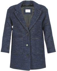 Loreak Mendian - Mare Women's Coat In Blue - Lyst