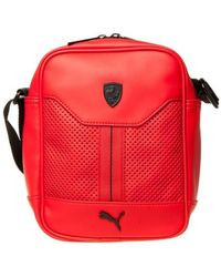 PUMA - Ferrari Ls Portable Women's Pouch In Red - Lyst