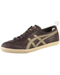 Asics - Mexico 66 Vulc Women's Shoes (trainers) In Brown - Lyst