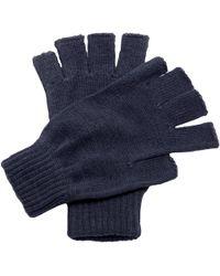 Regatta - Unisex Fingerless Mitts Gloves Women's Gloves In Blue - Lyst