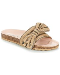 Esprit - Lisa Bow Women's Mules / Casual Shoes In Beige - Lyst