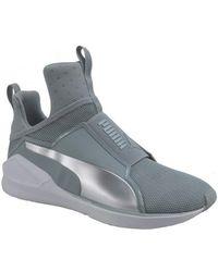 06f4c4609e6a PUMA - Fierce Core Women s Shoes (high-top Trainers) In Grey - Lyst
