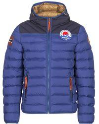Napapijri - Articage Men's Jacket In Blue - Lyst