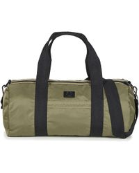 Fred Perry - Sports Nylon Barrel Men's Sports Bag In Green - Lyst