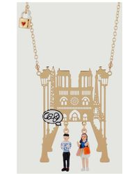 N2 - Paris Necklace 47663 Gold Women's Necklace In Gold - Lyst