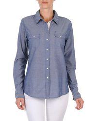 Oxbow - E1farini Women's Shirt In Blue - Lyst