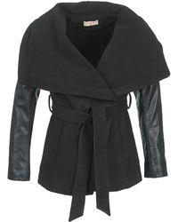 Moony Mood - Dumout Women's Coat In Black - Lyst