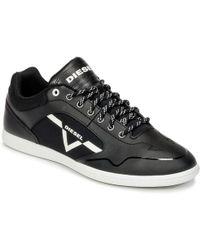 DIESEL | S-aarrow Men's Shoes (trainers) In Black | Lyst
