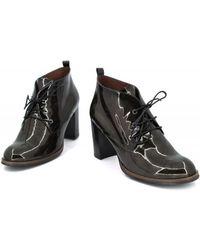 Hispanitas - Brujas Hi-63859 Women's Low Ankle Boots In Green - Lyst