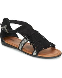 Minnetonka - Maui Women's Sandals In Black - Lyst