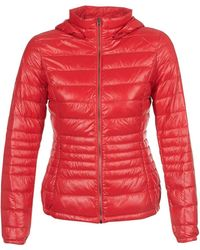 Benetton - Minor Women's Jacket In Red - Lyst