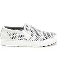 Apepazza   Dlw06 Slip-on Women White Women's Sandals In White   Lyst