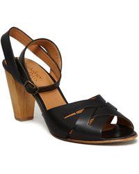 Anthology - Anoushka Sandals 39402 Black Women's Flip Flops / Sandals (shoes) In Black - Lyst