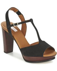 See By Chloé - Sb24100 Women's Sandals In Black - Lyst