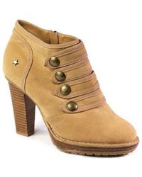 Big Star - L274250 Women's Low Ankle Boots In Beige - Lyst