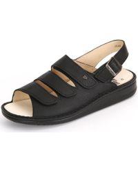 Finn Comfort - Sylt Bison Men's Sandals In Black - Lyst