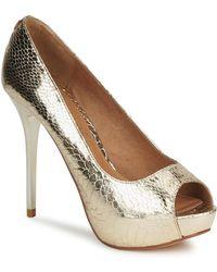 Moda In Pelle - Instinct Women's Court Shoes In Gold - Lyst