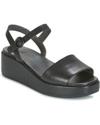 Camper - Misia Women's Sandals In Black - Lyst