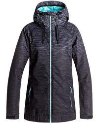 Roxy - Valley - Chaqueta Para Nieve Erjtj03127 Women's Jacket In Black - Lyst