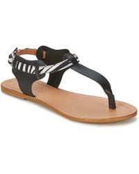 So Size - Arwey Women's Sandals In Black - Lyst