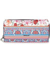 Desigual - Mone_aria Maria Women's Purse Wallet In Multicolour - Lyst