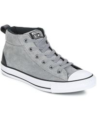 691125f54a4d13 Converse - Chuck Taylor All Star Street Mid Men s Shoes (high-top Trainers)
